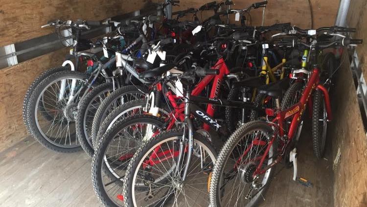 Quelques vélos remis à neuf