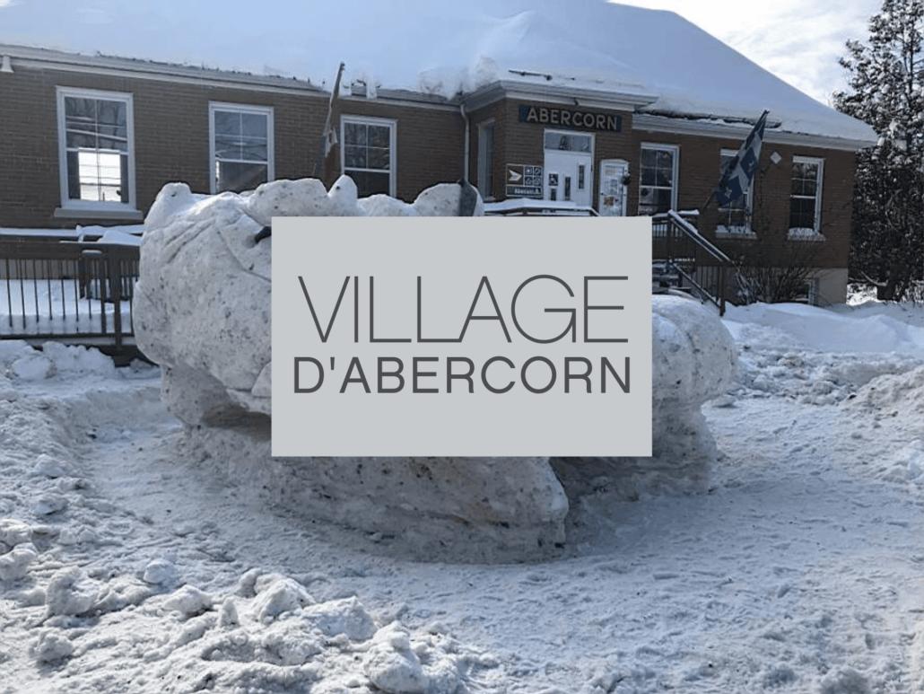 Vue sur la maison de ville d'Abercorn