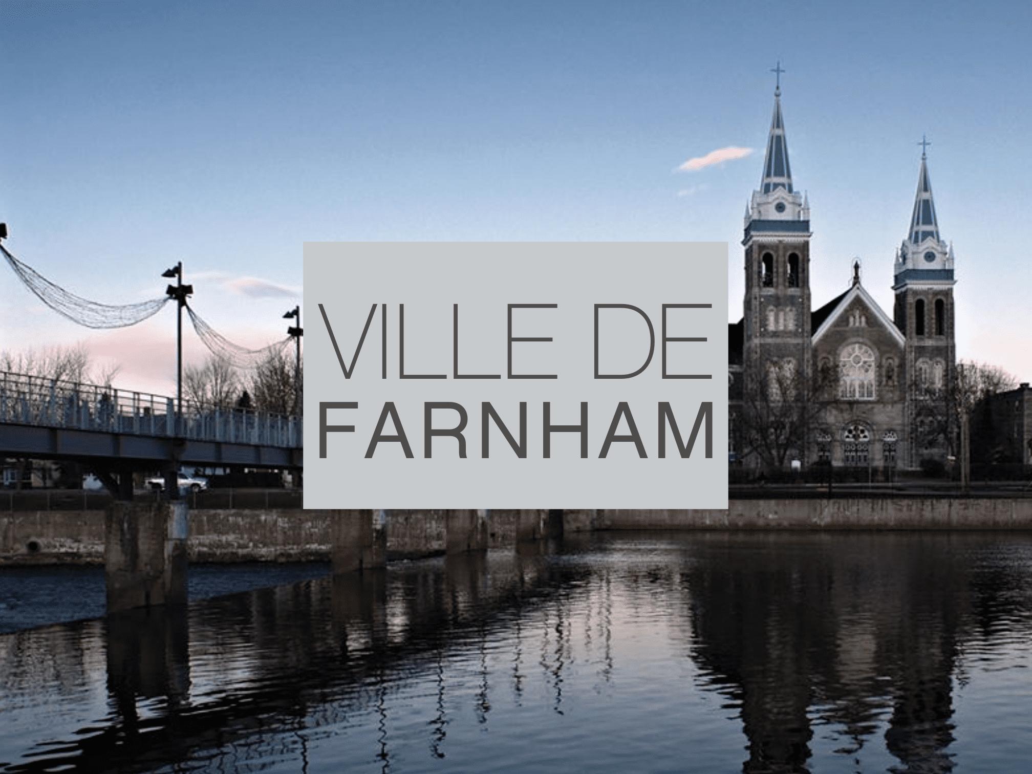 Vue sur la Paroisse Saint-Romuald de Farnham